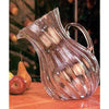 Kalalou Ribbed Tilted Pitcher