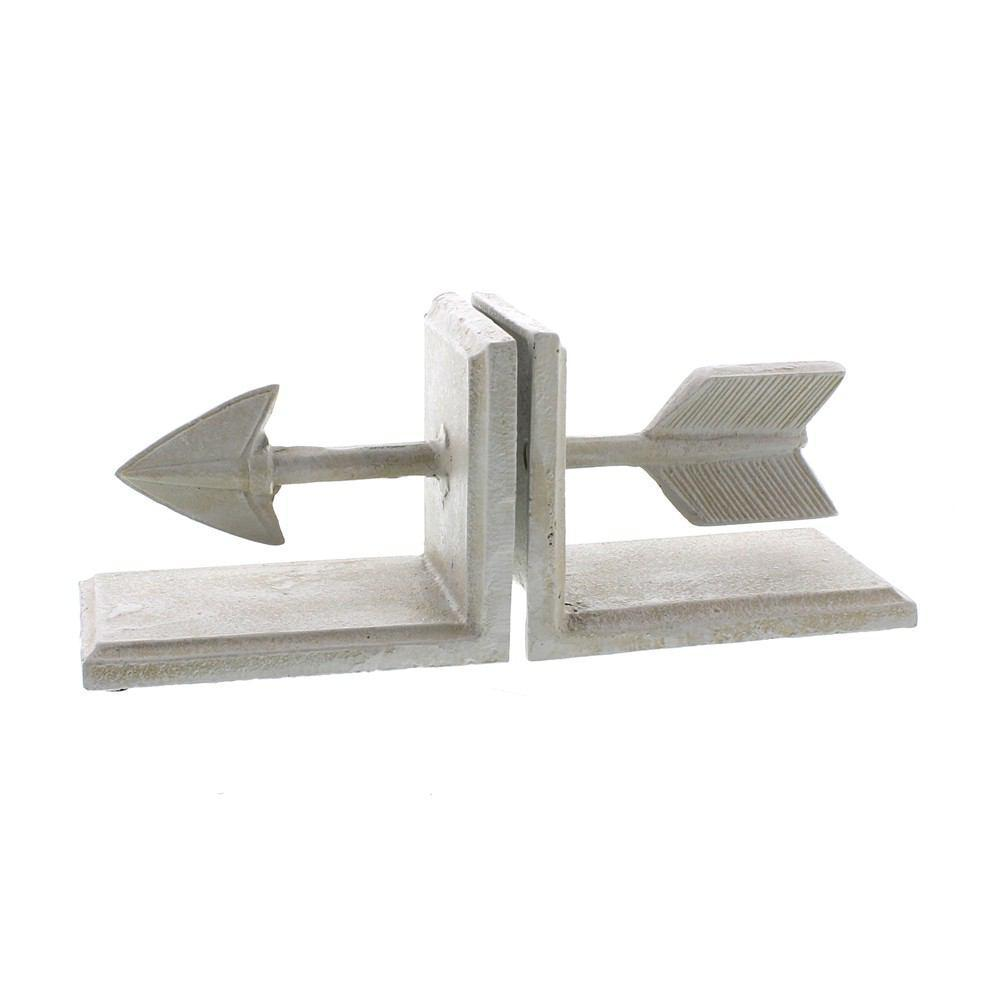 HomArt Arrow Cast Iron Bookends - Feature Image