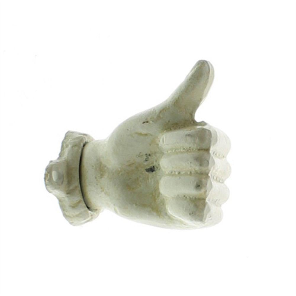 HomArt Wall Mounted Cast Iron Hand - Thumbs Up - Set of 4 - Feature Image