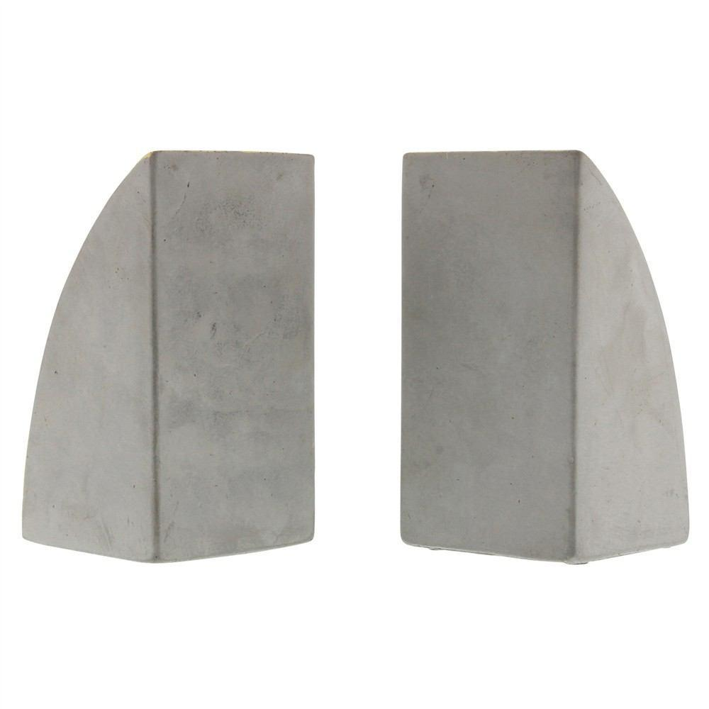 HomArt Geometric Cement Bookends