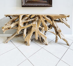 Habini Root Console Table