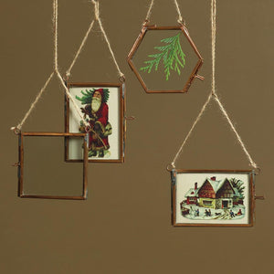 HomArt Cornell Ornament Frames - Set of 12 - 3 Each Style - Copper