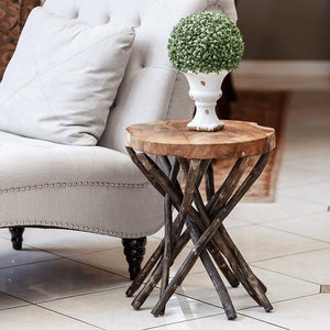 Teak Branched-Out Table - Round