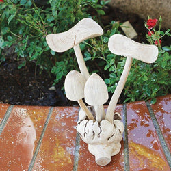 Mushroom Ornaments Set of 6