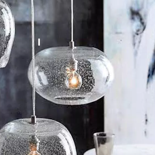 Roost seeded glass pendant lamps maplenest roost seeded glass pendant lamps aloadofball Image collections