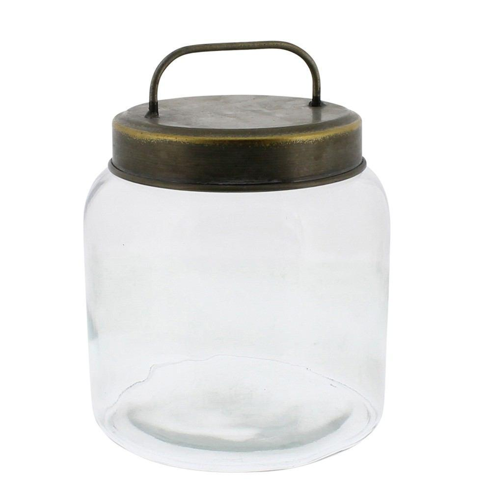 HomArt Archer Canister with Metal Lid - Small