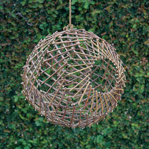 HomArt Twig Sphere - Natural - Set Of 2