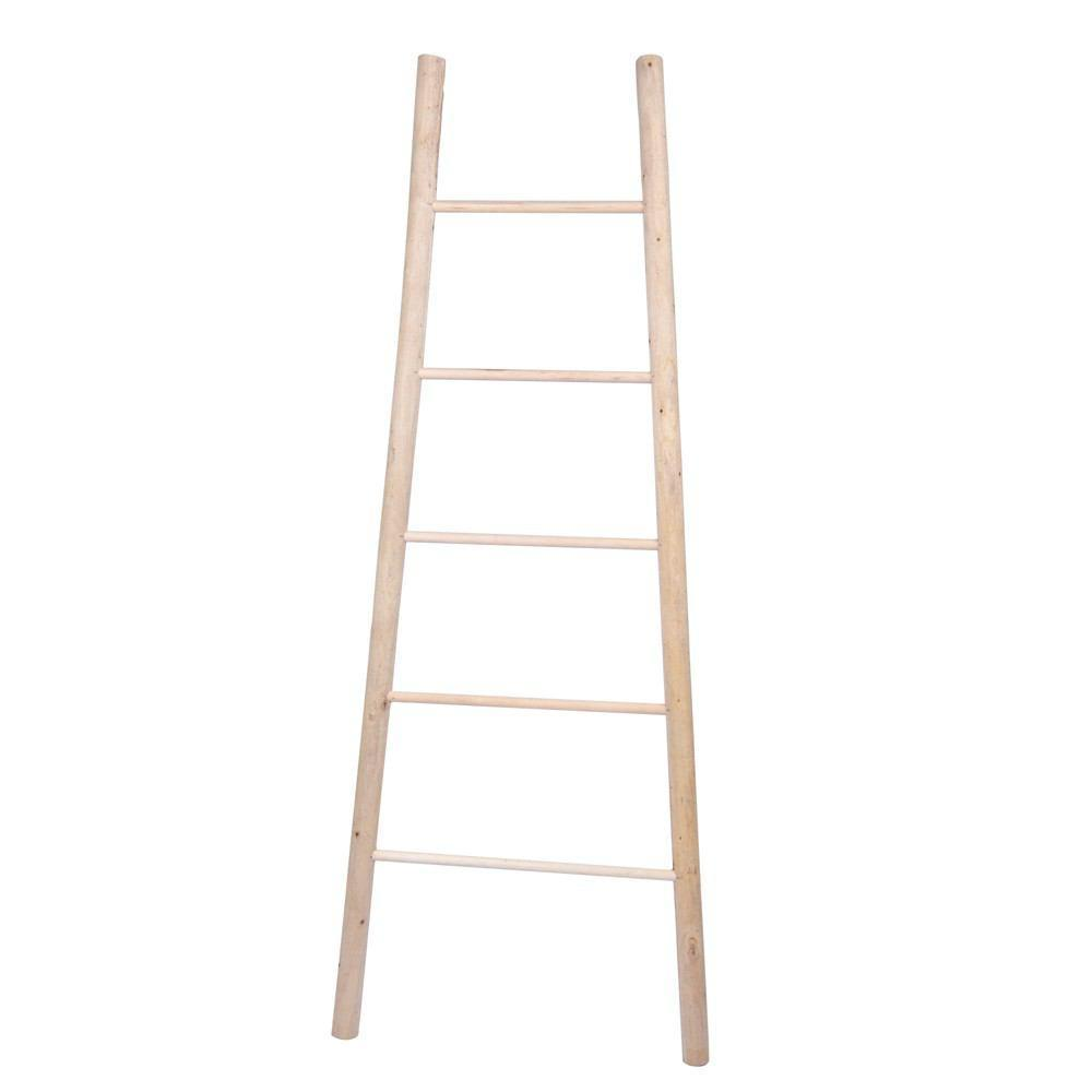 HomArt Decorative Wood Ladder - Natural - Set of 4