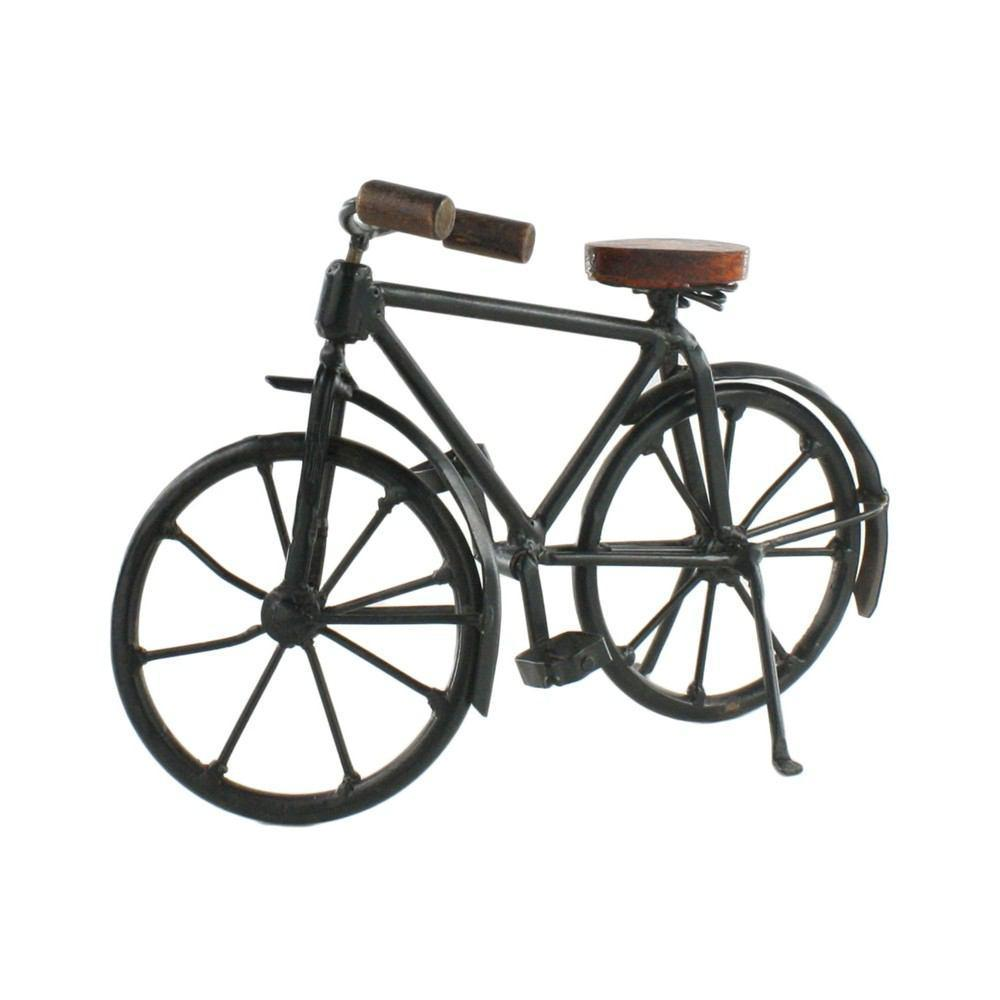 HomArt Iron and Wood Bicycle - Iron and Wood Bicycle
