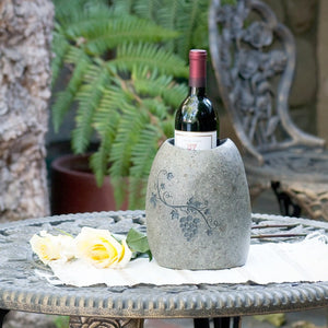 Natural Stone Wine Cooler Set of 2