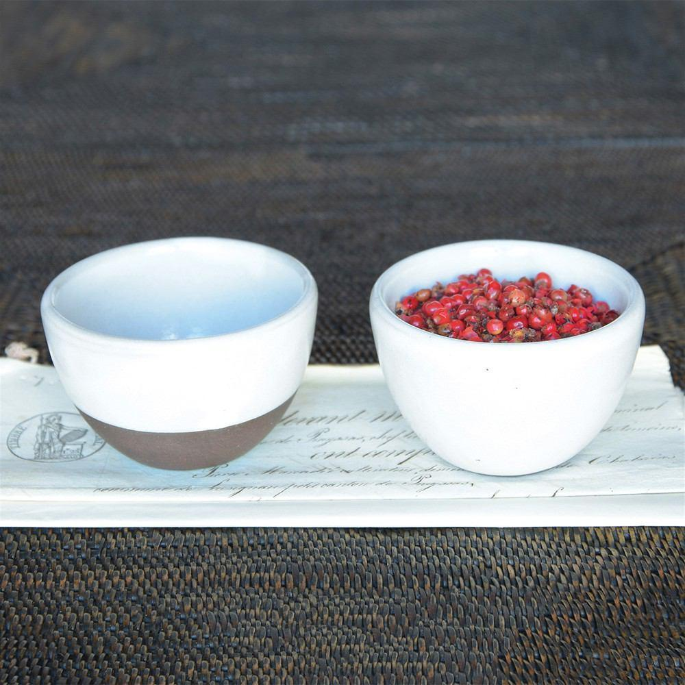 HomArt Liam Ceramic Sauce Bowl - Set of 12