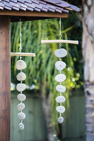 Beach Pebble Garlands - Set of 4
