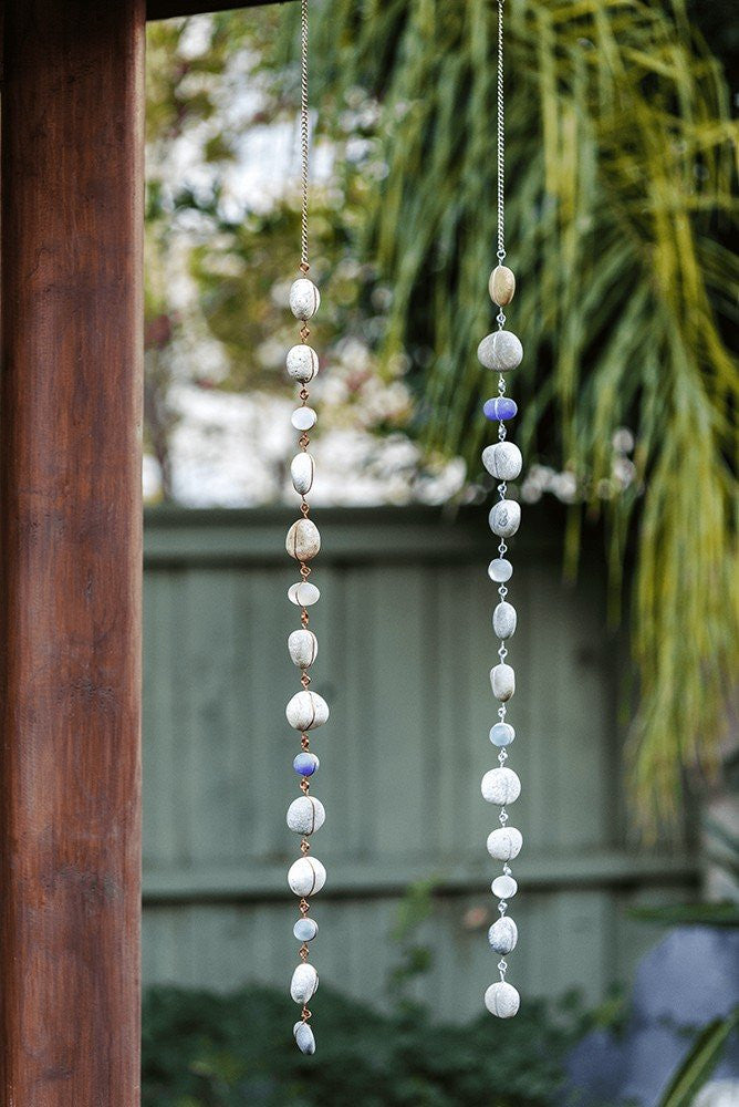 Raindrop Garlands - Galvanized Wire - Set of 4