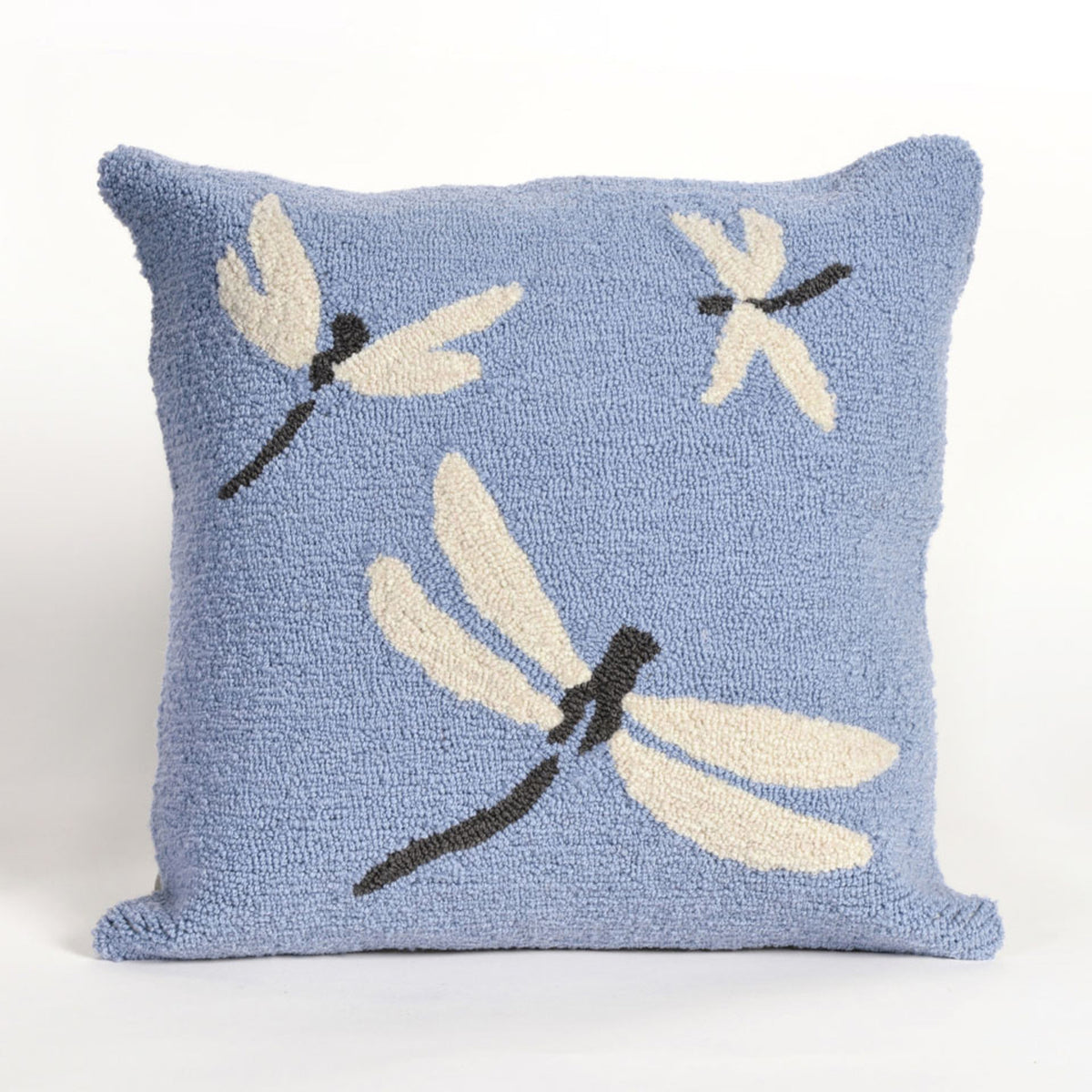 Frontporch Dragonfly Blue Pillows