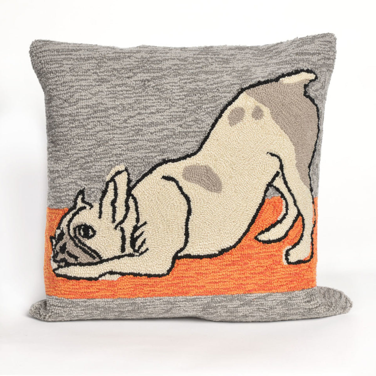 Frontporch Yoga Dog Heather Pillows