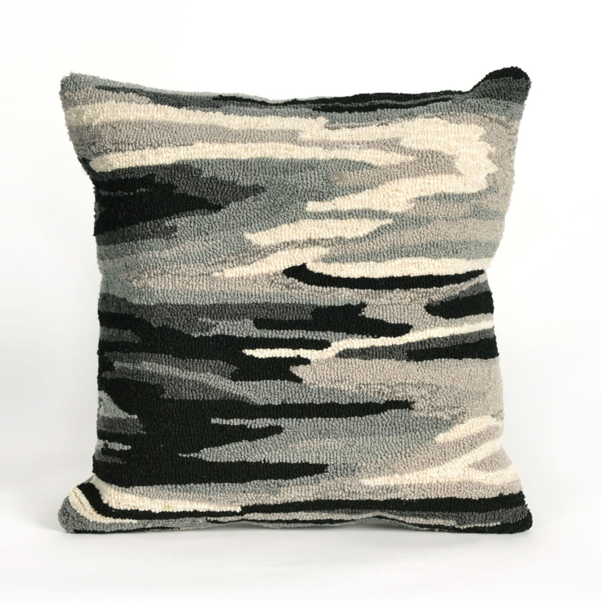 Frontporch Watercolor Charcoal Pillows