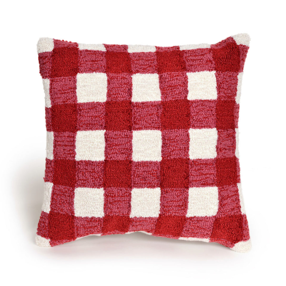 Frontporch Gingham Red Pillows