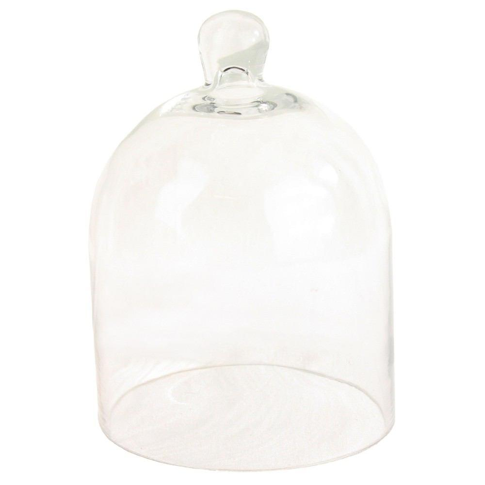 HomArt Glass Dome - Clear - Small - Set of 2