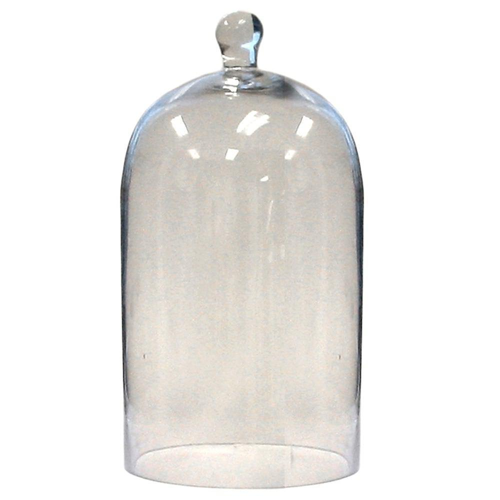 HomArt Glass Dome - Clear - Med