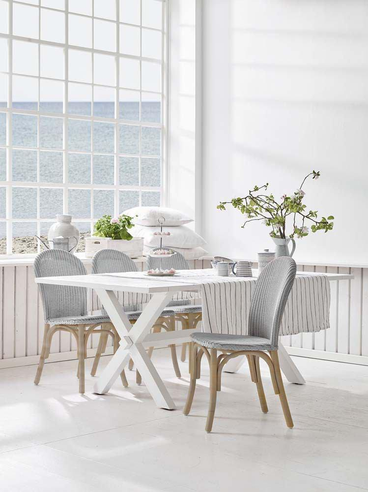 Sika Design Ofelia Chair Loom - Light Grey