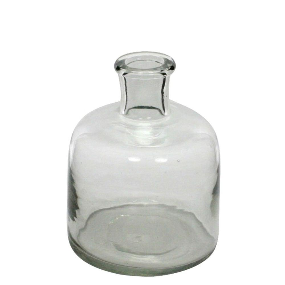 HomArt Milton Glass Bottle - Clear - Small