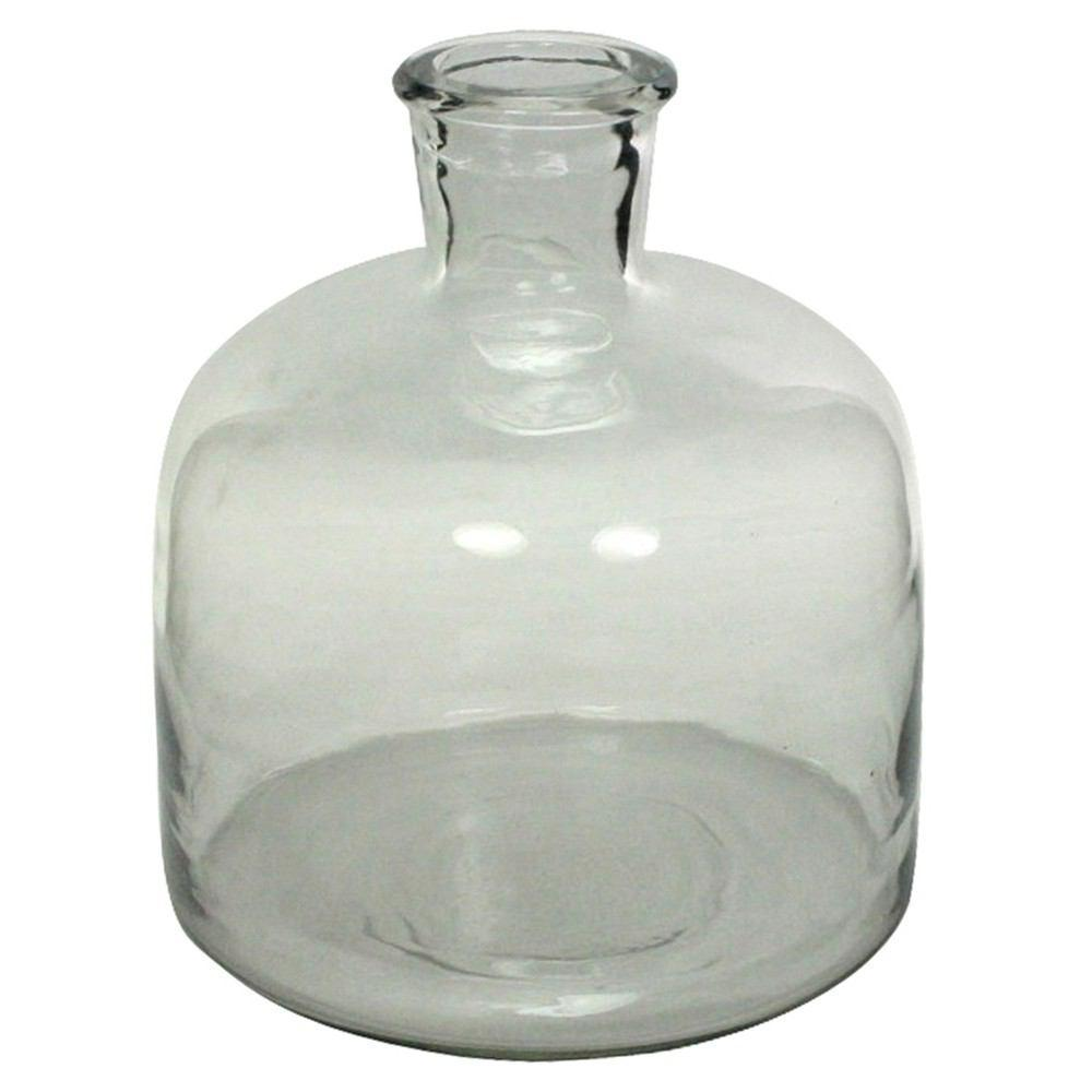 HomArt Milton Glass Bottle - Clear - Set of 2 - Feature Image