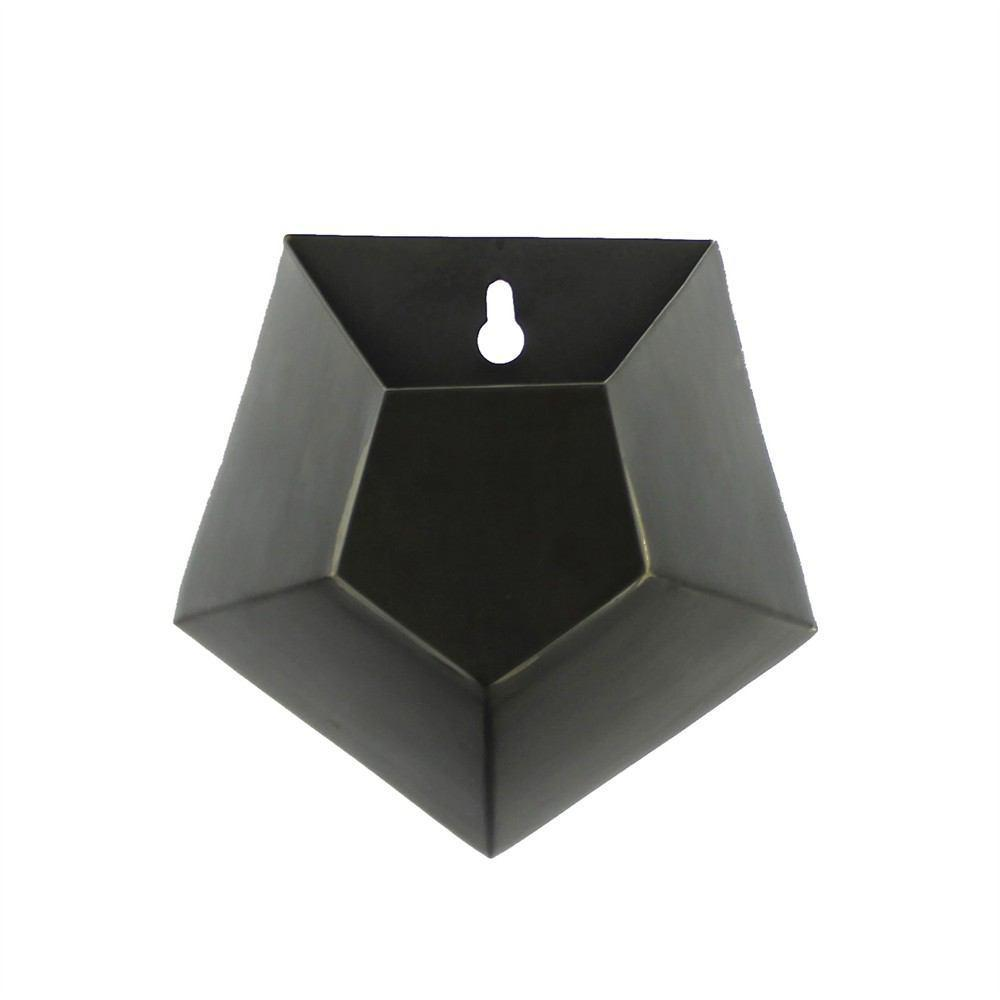 HomArt Hexagonal Iron Wall Vase - Single - Set of 4