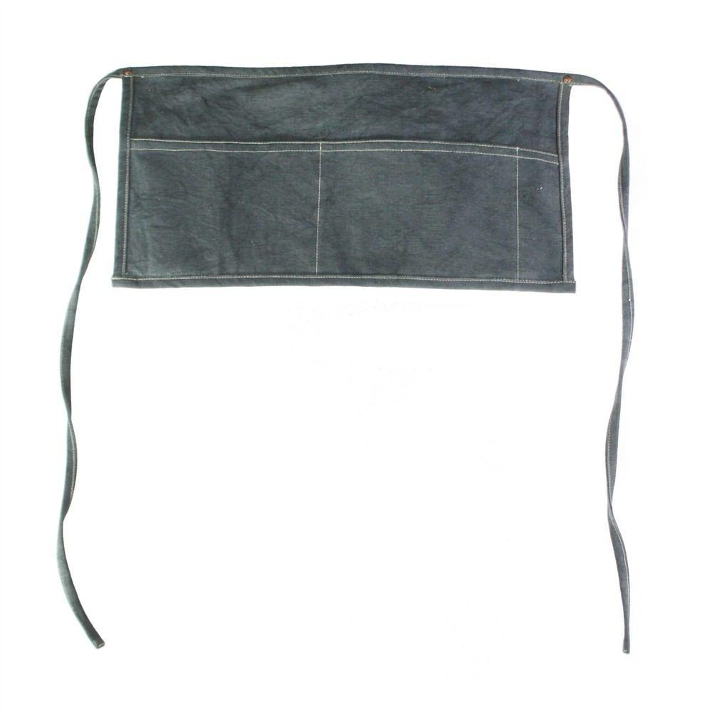 HomArt Workshop Canvas Apron - Tool - Graphite