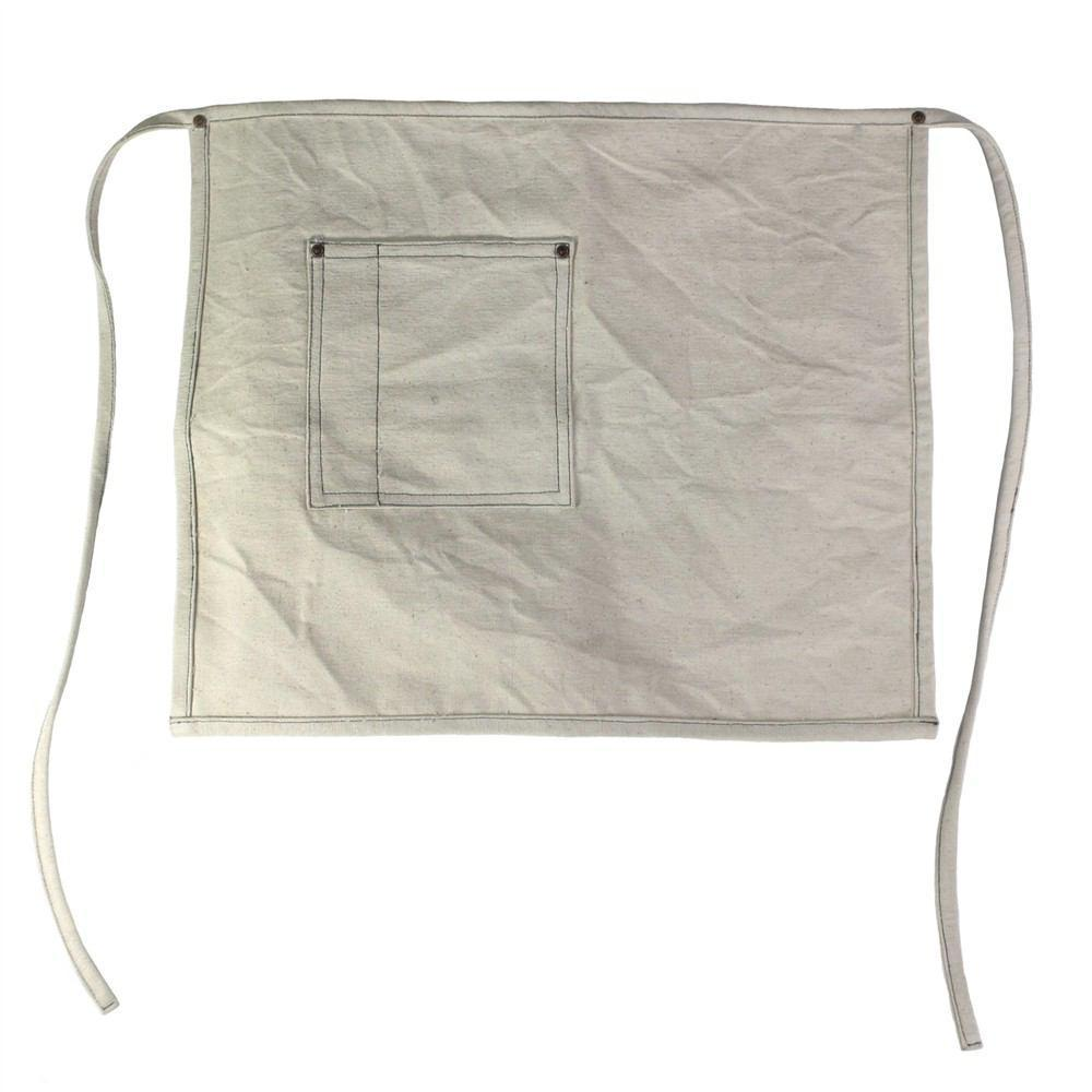 HomArt Workshop Canvas Apron - Chef - Ivory