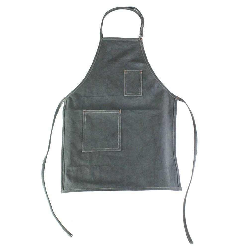 HomArt Workshop Canvas Apron - Baker - Graphite