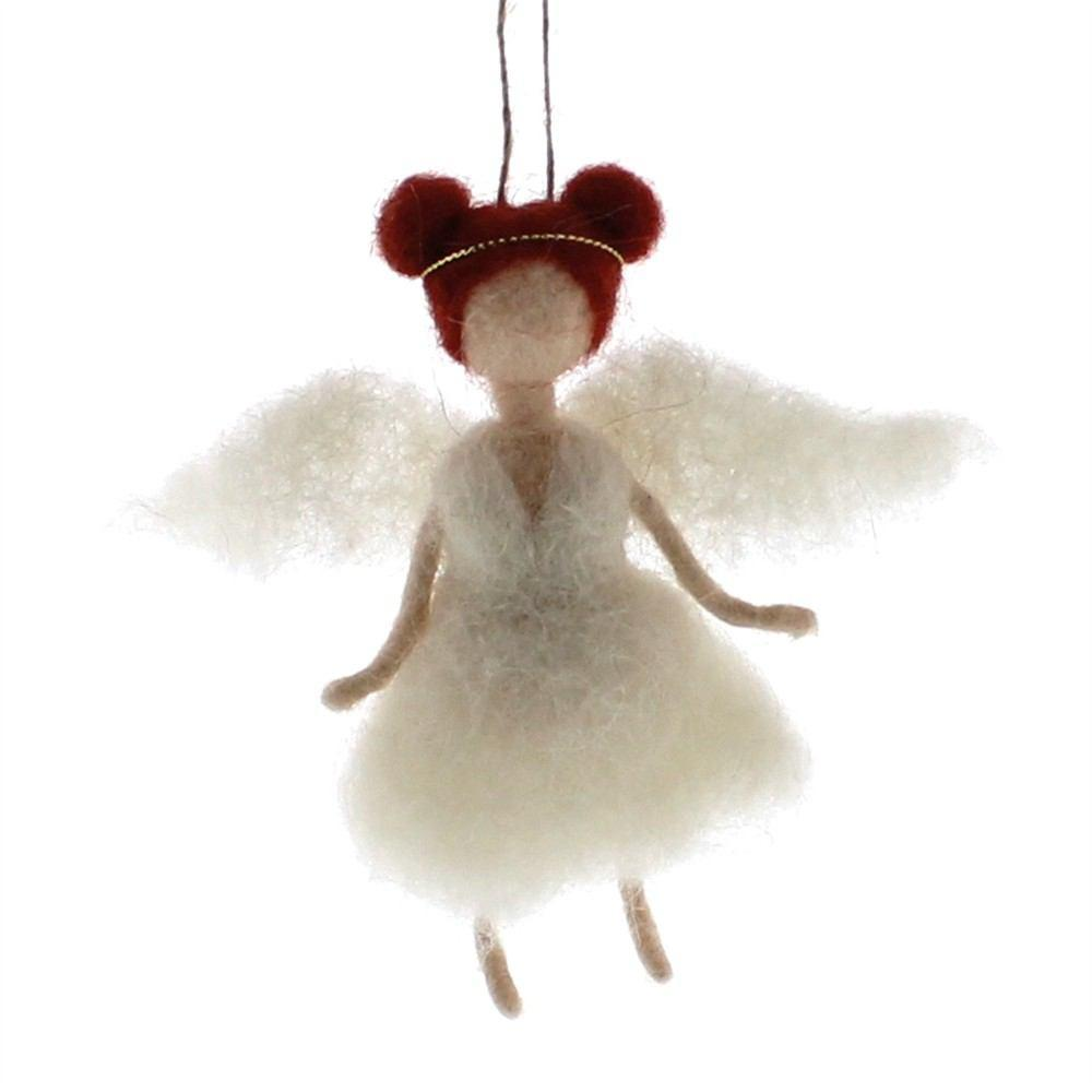 HomArt Felt Angel Ornament - Set of 6 - Feature Image