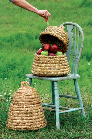 Kalalou Bee Skep Basket - Set Of 2