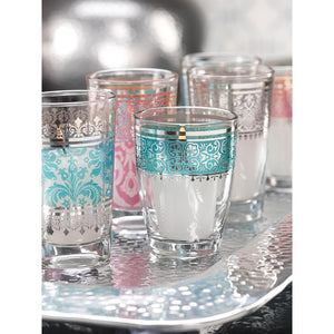 Zodax Casablanca Glass Tealight Holders - Set of 12