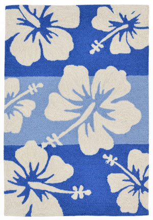 Capri Hibiscus Cool Indoor/Outdoor Rug