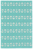 Capri Anchor Aqua Indoor/Outdoor Rug