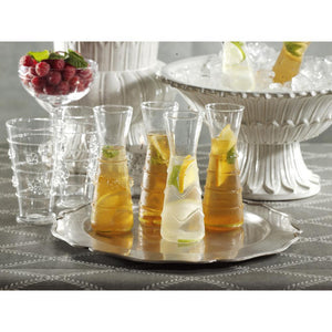 Zodax 6-Piece Zalli Assorted Glass Carafe Set