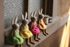 Kalalou Felt Rabbits - Set Of 4
