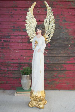 Kalalou Tall Painted Angel
