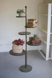 Kalalou Five Tiered Metal Display Stand