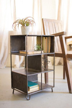 Kalalou Short Metal Shelving Unit
