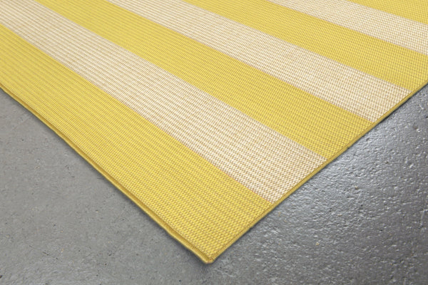 Terrace Rugby Sunshine Indoor/Outdoor Rug