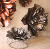 Kalalou Metal Hanging Wall Flowers - Set Of 2