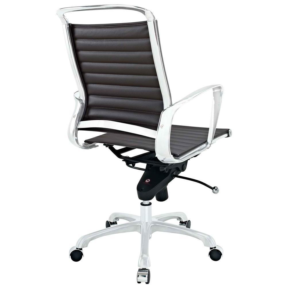 Modway Tempo Mid Back Office Chair - Brown