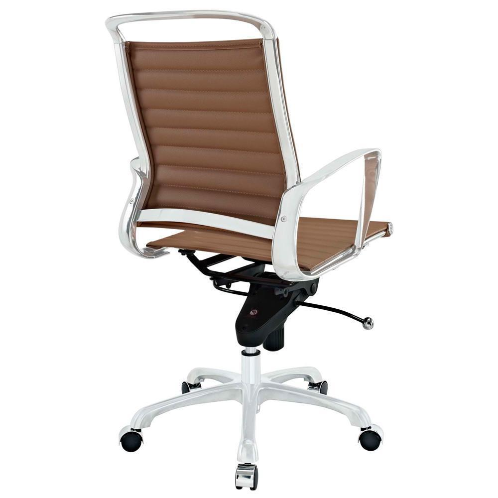 Modway Tempo Mid Back Office Chair - Tan