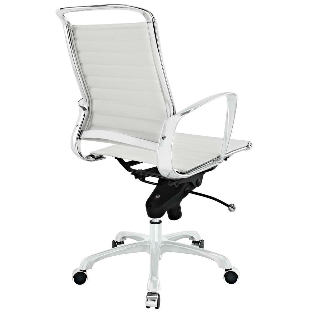Modway Tempo Mid Back Office Chair - White