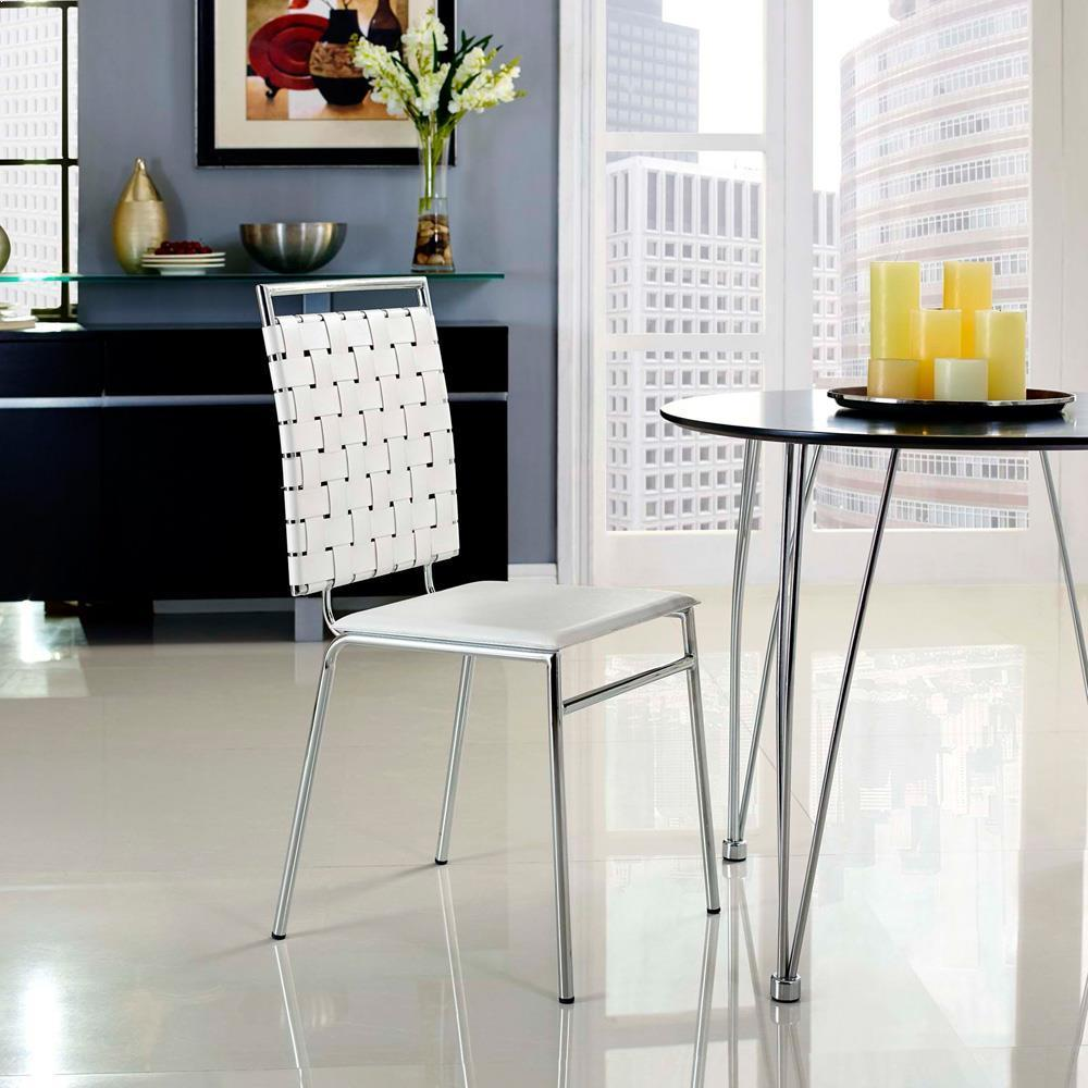 Modway Fuse Dining Side Chair - White
