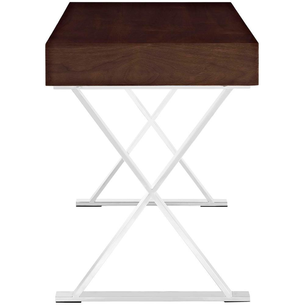 Modway Sector Office Desk - Walnut