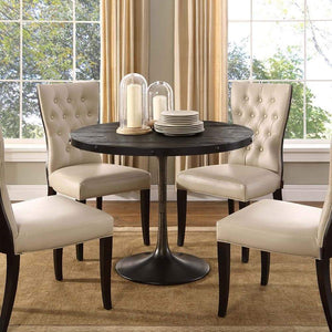 Modway Drive Wood Top Dining Table