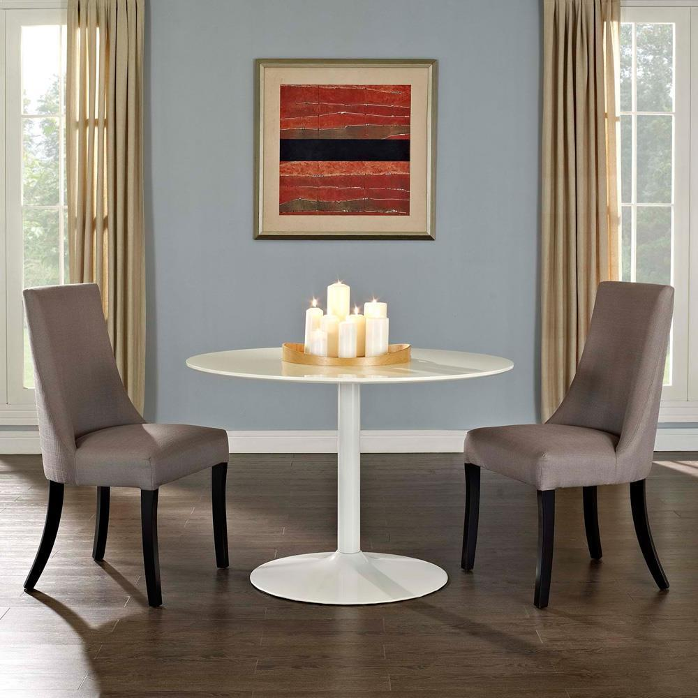 Modway Reverie Dining Side Chair Set of 2 - Gray