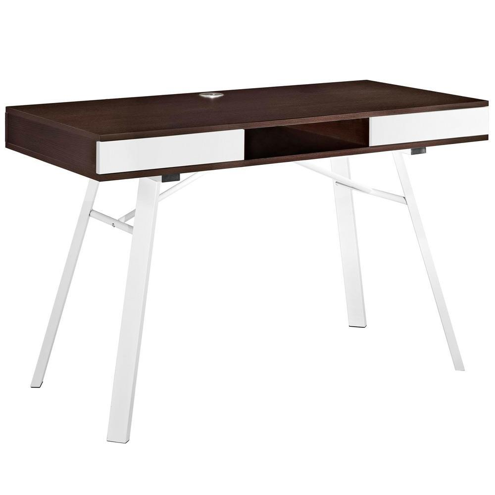 Modway Stir Office Desk - Cherry